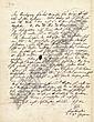 Gessner, Salomon: Brief 1759 an den Buchhändler Reich