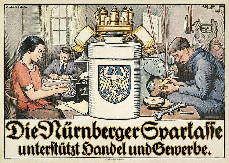 Bach, Andreas: Die Nürnberger Sparkasse. Um 1903