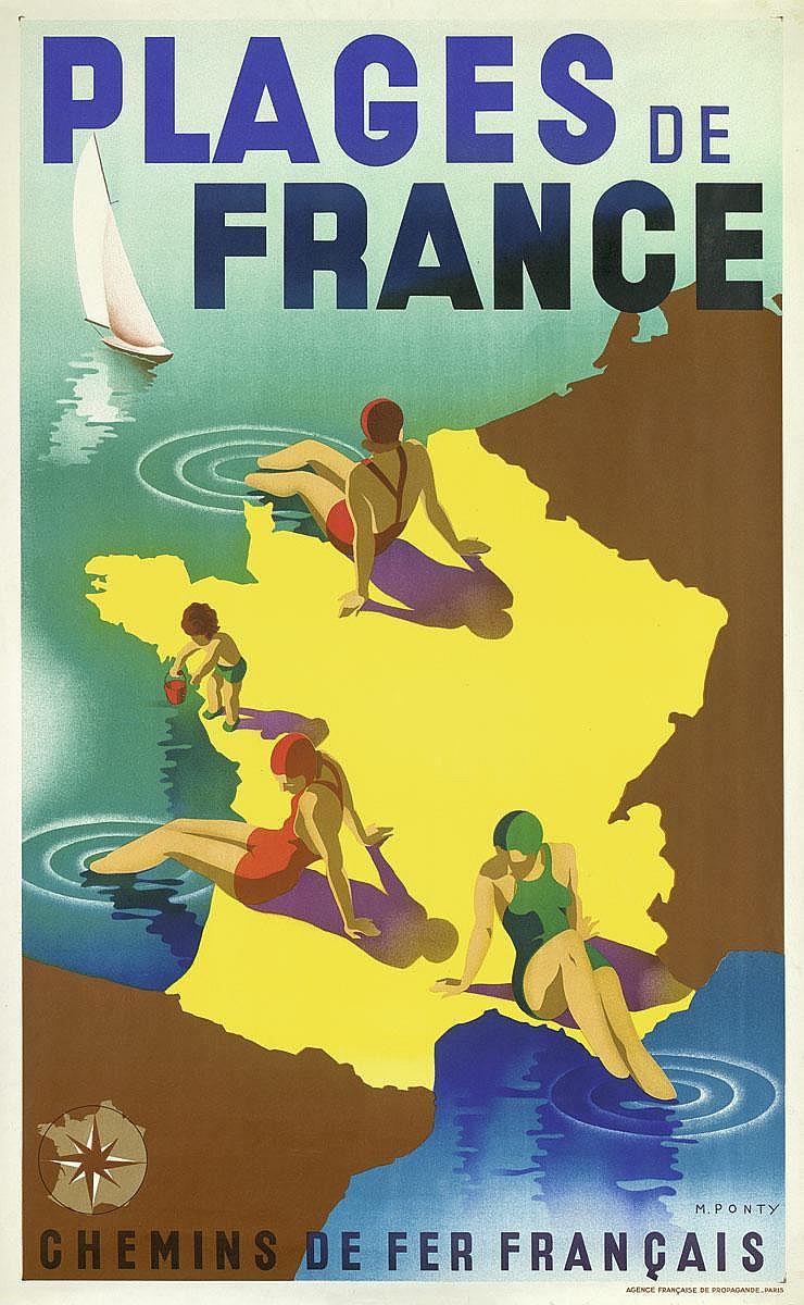 Ponty, Max: Plages de France