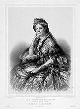 Winterhalter, Franz Xaver: Bildnis Charlotte von Württemberg, spätere Großfürstin Helena Pawlowna (????? ????????)