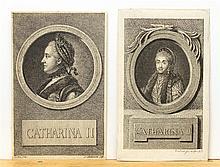 Chodowiecki, Daniel Nikolaus: Portrait der Kaiserin Catharina II