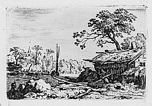 Everdingen, Allaert van: Die verfallene Hütte