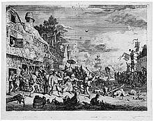 Dusart, Cornelis: Das Große Dorffest
