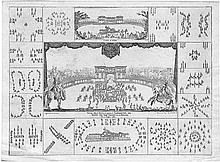 Bella, Stefano della: Carrousel execute a Florence pour le mariage du grand-duc Ferdinand II