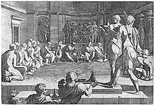 Barbiere, Domenico del: Das Gastmahl Alexanders des Großen
