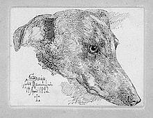 Lundbye, Johan Thomas: Das Hundeporträt