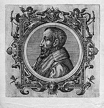 Französisch: 16. Jh. . Bildnis eines bärtigen Mannes im profil nach links