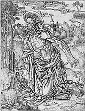 Florentinisch: um 1500. Der hl. Hieronymus