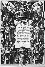Floris, Cornelis II - nach: Entwurf für ein Groteskenornament