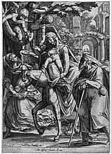 Cort, Cornelis: Die Flucht nach Ägypten