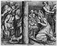 Carracci, Annibale: Die Anbetung der Hirten