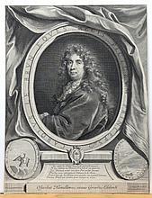 Edelinck, Gérard: Bildnis des Charles Le Brun
