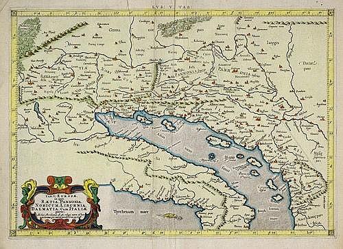 Adriatisches Meer: Tab(ula) Europae Adriatisches