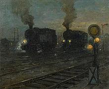 Sandrock, Leonhard: Lokomotiven und Signale