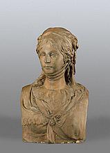 Schadow, Johann Gottfried - nach: Büste der Luise, Königin von Preußen.
