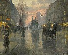 Cortes, Edouard - zugeschrieben: La Porte Saint-Denis