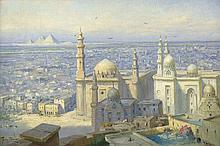 Binder, Anton (Tony): Blick über Kairo