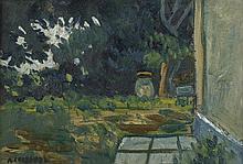 Chabaud, Auguste: La Jarre au coin de la maison