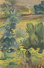 Böhme, Gerd: Landschaftsansicht