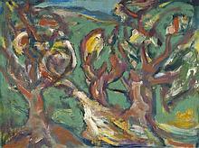 Degner, Arthur: Alte Bäume im Sturm