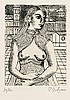 Delvaux, Paul: Half-length Portrait of a Woman II, Paul Delvaux, €300