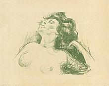 Munch, Edvard: Liegender Halbakt II