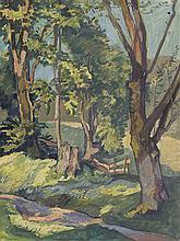 Bürck, Paul: Bäume