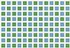 Morellet, Francois: Ohne Titel (Blue and green squares), Francois Morellet, €340
