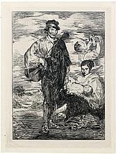 Manet, Edouard: Les Gitanos