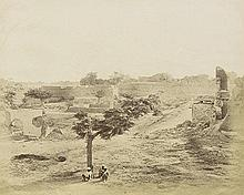 Beato, Felice: Water Bastion and Breach, Lucknow; Burial Ground of the Residency at Lucknow