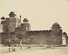 Beato, Felice: Lahore Gate of the Royal Palace, Delhi
