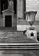 Reinartz, Dirk: On the steps of the New York Publc Library