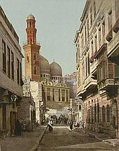 Photochromes: Travel album with views of Egypt and other locations