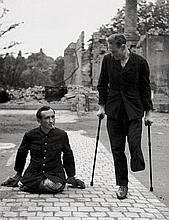 Peter Sr., Richard: Zwei Männer - ein Bein; Ruins, Ostbahnstr. Dresden