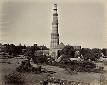 Bourne, Samuel and Unknown: Views of Qutb Minar