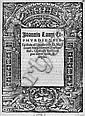 Lange, Johannes: Epistola ad D. Martinum Margaritanum. 1521