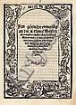 Zwingli, Ulrich: Ain goetliche ermanung an die Ersamen. EA 1522