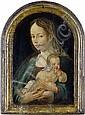 Niederländisch, um 1520 Die Madonna mit Kind um