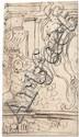 Alberti, Cherubino Entwurf für eine Wanddekoration