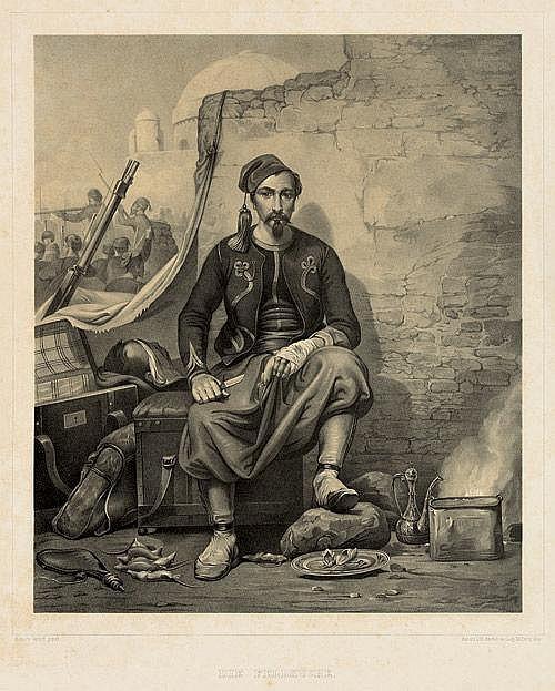 Vernet, Horace: Die Feldküche. Wien um 1850
