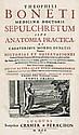 Bonet,Theophilus: Sepulchretum, sive anatomia practica,