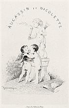 Aucassin et Nicolette und Bida, Alexandre: Chantefable du douzième siècle. Traduite par A. Bida