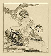 Bayros, Franz von: Götterliebschaften