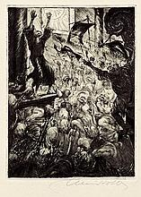 Jacobsen, Jens Peter und Avalun-Drucke: Die Pest in Bergamo (Ill.: Alois Kolb)