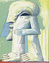Lutze, Bernd: Horst Antes - Lithographien
