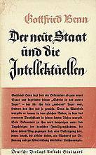 Benn, Gottfried: Der neue Staat und die Intellektuellen