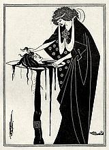 Wilde, Oscar und Beardsley, Aubrey: Salomé. Illustr. A. Beardsley