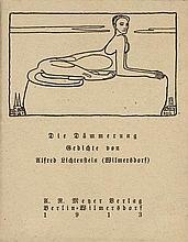 Lichtenstein, Alfred: Die Dämmerung