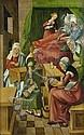 Fränkisch oder Schwäbisch, um 1520: Die Geburt Mariens
