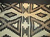 Hand Woven Wool Rug Unable to determine the exact type of weaving pattern of this rug. Appears Navajo, possibly two grey hills style.